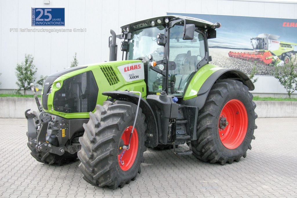 RDS Radial + Airbox Drive sur Claas Axion