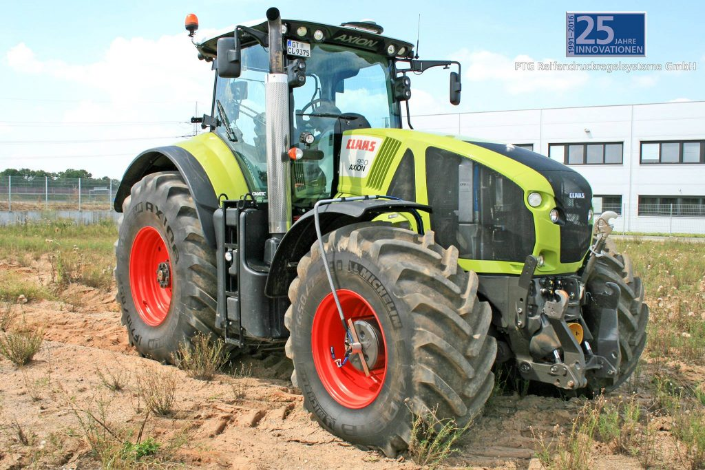 RDS Radial + Airbox Drive sur Claas Axion 900